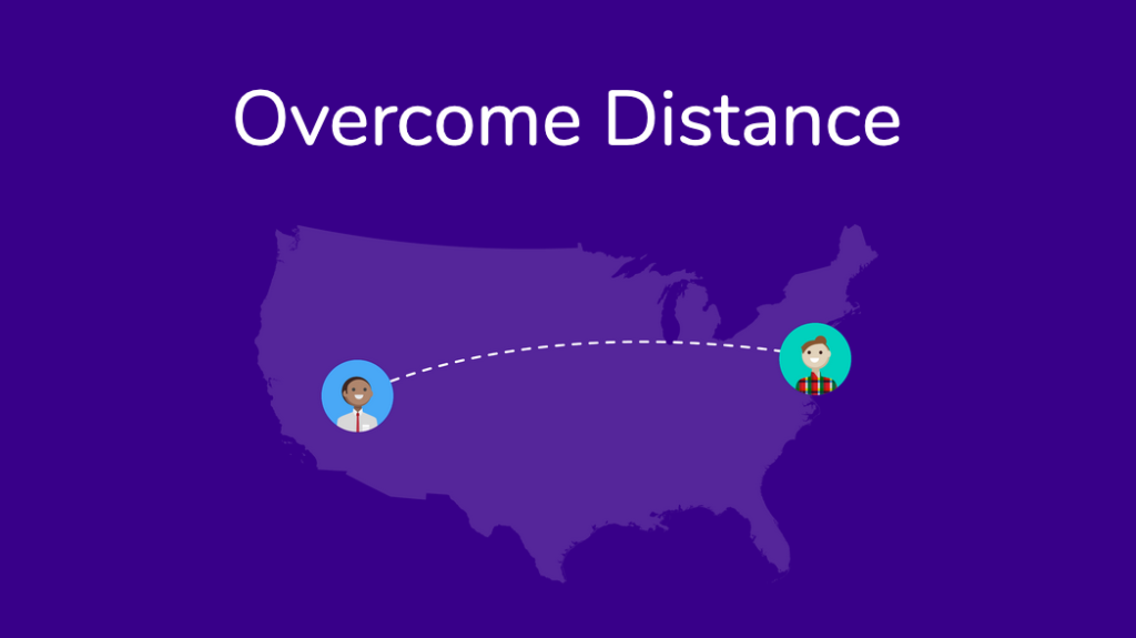 overcome distance with donut