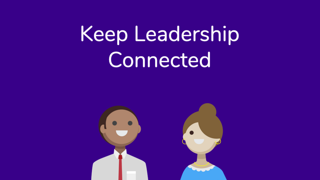 keep leadership connected with donut