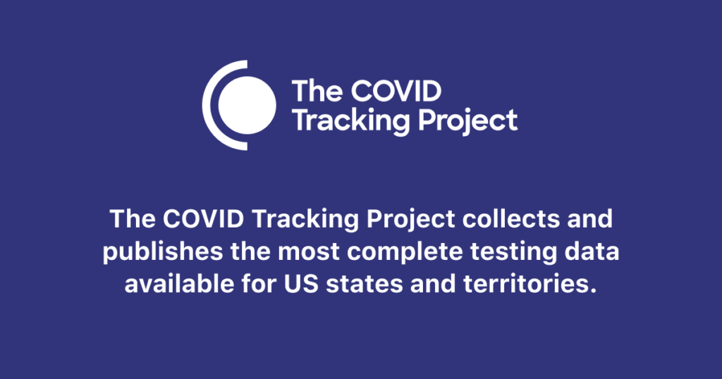 About The COVID Tracking Project