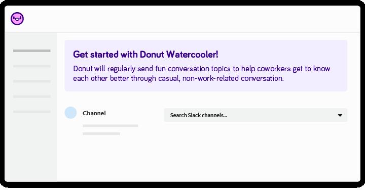 donut-watercooler-channels